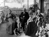 Picture relating to Queensland - titled 'William and Mary Woodyatt with Mrs Harry Alder'