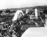 Picture relating to South Brisbane - titled 'People gathered for the opening of the William Jolly Bridge, Brisbane, 30 March 1932'