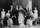 Picture relating to Samsonvale - titled 'Woodward family wedding,1935'