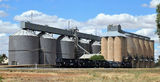 Grong Grong wheat silos