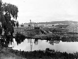 Picture relating to Canberra - titled 'The outfall sewer next to the old Commonwealth Avenue Bridge, Canberra.'