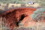 Picture relating to Newman - titled 'Weeli Wolli ~ sink hole.'