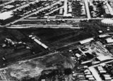 Picture relating to Newstead - titled 'Aerial view of the industrial area of Newstead, Brisbane, ca.1925'