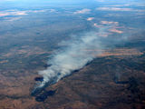Picture of / about 'Pine Creek' the Northern Territory - Aerial photo of Forest fires near Pine Creek