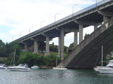 Picture relating to Parramatta River - titled 'Gladesville Bridge, Parramatta River'