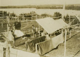 Picture relating to Southport - titled 'Camp at Main Beach, Southport'