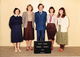 Picture relating to Scott Creek - titled 'Scott Creek Primary School Staff 1982'