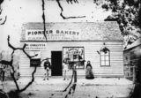 Picture relating to Stanthorpe - titled 'Groom's Pioneer Bakery, Griggs Street, Stanthorpe, 1872'