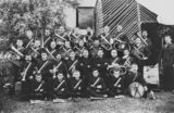 Picture relating to Charters Towers - titled 'Salvation Army Band, Charters Towers, ca. 1900'