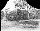 Picture relating to Ainslie - titled 'Houses at Ainslie under construction'