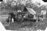 Picture relating to Eidsvold - titled 'Mining days at Auburn Falls, Eidsvold district'