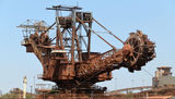 Picture relating to Port Hedland - titled 'Iron Ore Bucket Dredge Port Hedland'