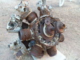 Picture relating to Larrimah - titled 'aircraft engine remains Larrimah NT'