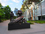 "Picture relating to Canberra City CBD - titled 'Sculpture ""Resilience""'"