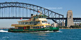 Picture relating to Sydney Harbour - titled 'The Borridale Ferry on Sydney Harbour.'