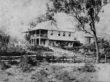 Picture relating to Irvinebank - titled 'Louden House at Irvinebank, ca. 1897'