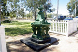 Picture relating to Chichester Range - titled 'Victoria Fountain - Wagin. WA'