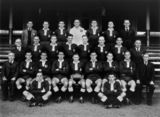 Picture relating to Sydney - titled 'Queensland Rugby League Team in 1949'
