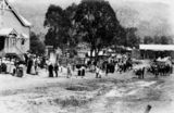 Picture relating to Canungra - titled 'Armistice Day celebrations at Canungra, 1918'