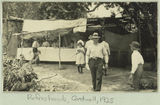 Picture relating to Cardwell - titled 'Refreshment stall in Cardwell, 1925'