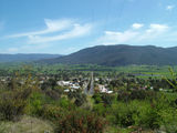 Picture of / about 'Corryong' Victoria - Corryong as seen from hills around Mount Elliot