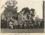 Picture relating to Gatton - titled 'Sir John and Lady Goodwin as visitors to Gatton College, Queensland'
