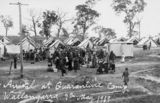 Picture relating to Wallangarra - titled 'Arrival at Quarantine Camp, Wallangarra, 1919'