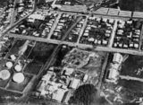 Picture of / about 'Bowen Hills' Queensland - Aerial view of Bowen Hills, Brisbane, ca. 1933