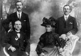 Picture relating to Maryborough - titled 'Mergard family'