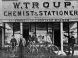 Picture relating to Charleville - titled 'Chemist and stationer's store, Charleville, 1898'
