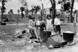 Picture relating to Petrie - titled 'Picnicking at Petrie, 1926'