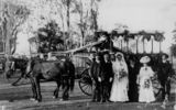 Picture relating to Mundubbera - titled 'Mundubbera wedding party, ca. 1913'