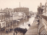 Picture of / about 'Brisbane' Queensland - Brisbane, another view of Queen Street 1893 floods