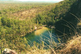 Kakadu National Park Gunlom Falls pool from the escarpment.