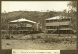 Picture relating to Mount Isa - titled 'Single men's accommodation at Mt. Isa Mines, 1932'