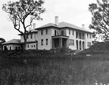 Picture relating to Deakin - titled 'Prime Minister's Lodge, Adelaide Avenue, Deakin, from the east.'
