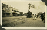 Picture relating to Yeppoon - titled 'Passengers at the William Street, railway station in Rockhampton'
