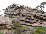 Picture relating to Mount William - titled 'Mount William rock formations'