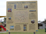 Picture relating to Willow Tree - titled 'Liverpool Plains map'