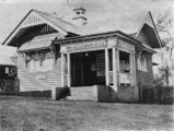 Picture relating to Kilcoy - titled 'Kilcoy Post Office, ca. 1914'