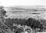 Picture relating to Canberra - titled 'View from Mt. Ainslie looking towards St John's church and Reid, Canberra.'
