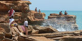 Picture relating to Gantheaume Point - titled 'Gantheaume Point Broome'