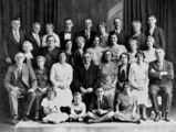Picture relating to Brisbane - titled 'Members of the Welsh Church, Brisbane, 1934'