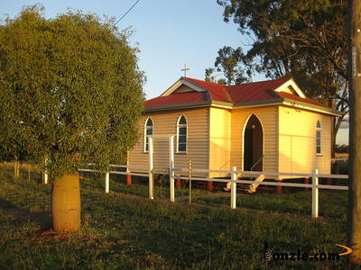 Picture of / about 'Durong South' Queensland - Holy Trinty Anglician Church - Durong