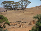 Picture relating to Orroroo - titled 'Pekina station ruins - Orroroo'
