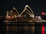 Picture relating to Sydney Harbour - titled 'Sydney Harbour By Night 6'