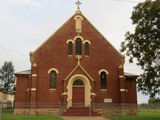 Picture relating to Koorawatha - titled 'Koorawatha church'