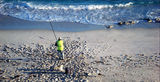 Picture relating to Esperance - titled 'Fisherman on the beach at Esperance'