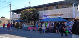 Picture relating to Gayndah - titled 'Gayndah Street during Festival'