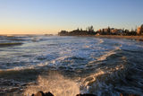 Picture relating to Port Macquarie - titled 'Flagstaff Hill and Town Beach from breakwall'